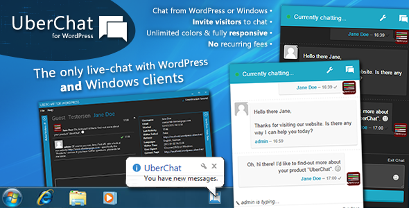 ClientEngage VisitorChat - The PHP Online Chat With Windows Client